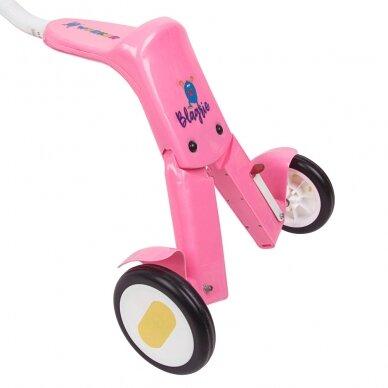 Vaikiškas triratis 2in1 paspirtukas - dviratukas Worker Blagrie - Green 12