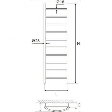Rankšluoščių džiovintuvas Elonika EV 1035 K/KL/KLD 2