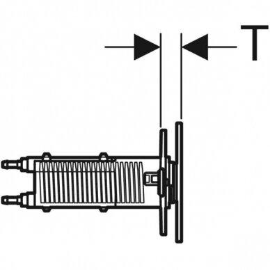 Vandens nuleidimo mygtukas Geberit Type 70 4