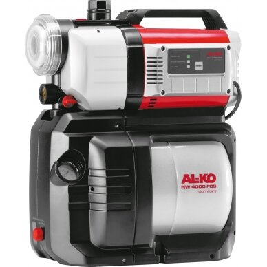 Vandens siurblys su hidroforu AL-KO HW 4000 FCS Comfort 1000W l/h 4.000