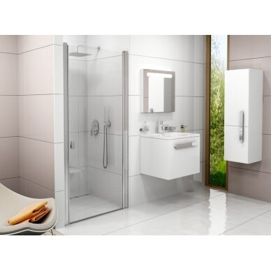 Varstomos dušo durys Ravak Chrome CSD1 80, 90 cm 2