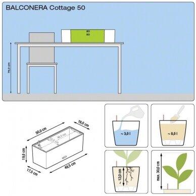 Vazonas Balconera Cottage LECHUZA 7