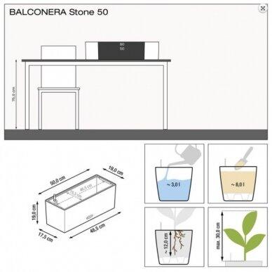 Vazonas Balconera Stone LECHUZA 5