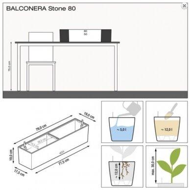 Vazonas Balconera Stone LECHUZA 6
