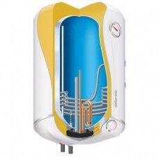 Vertikalus kombinuotas vandens šildytuvas Atlantic Combi O'Pro 80; 80 l (senas k. 854015)