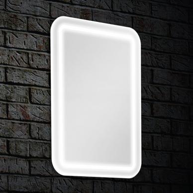 Veidrodis Blu Leon su LED apšvietimu, 60x80 cm