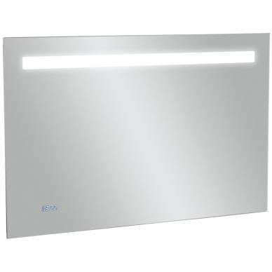 Veidrodis Kohler su LED, IP 44 laikrodis 80, 100 cm 2