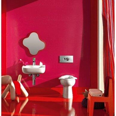 Veidrodis vaiko vonios kambariui Laufen Florakids