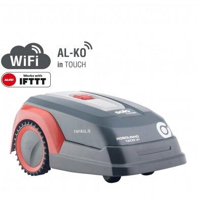 Vejos pjovimo robotas Solo by AL-KO Robolinho 1200 W Premium Pro