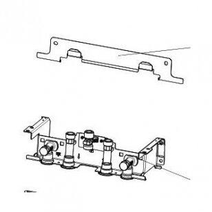 Viessmann pagalbinis montavimo įtaisas montavimui ant tinko be pakabinimo kryžmės
