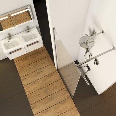 Dušo kabina Ravak Walk-in Wall 90, 100, 110, 120 cm 4