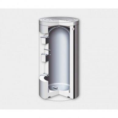 Viessmann šilumos siurblių priedas - Šildymo vandens kaupiklis Vitocell 100-W, tipas SVPA 46 l 2
