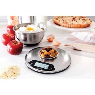Virtuvinės svarstyklės su laikmačiu Brabantia apvalios 3