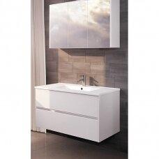 Vonios baldų kompelktas Riho Porto SET27, 80 cm