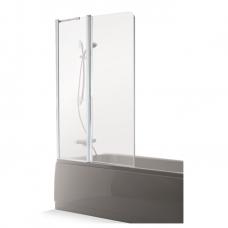 Vonios sienelė Baltijos Brasta Maja Plius 70, 80, 90, 100 cm su skaidriu stiklu