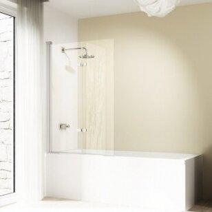 Vonios sienelė Huppe Design pure 100, 120 cm