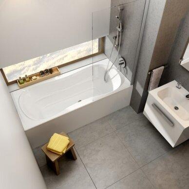 Akrilinė vonia Ravak Campanula II 170, 180 cm su kojomis 3