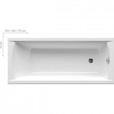Vonia Ravak Classic 120, 140, 150, 160, 170 cm 3