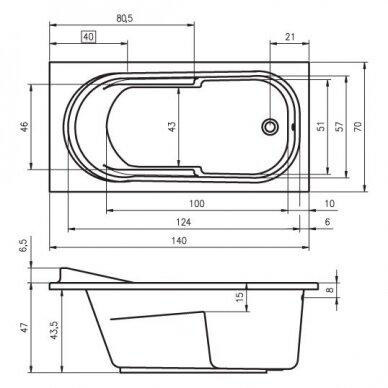 Vonia Riho Columbia 140, 150, 160, 175 cm 2