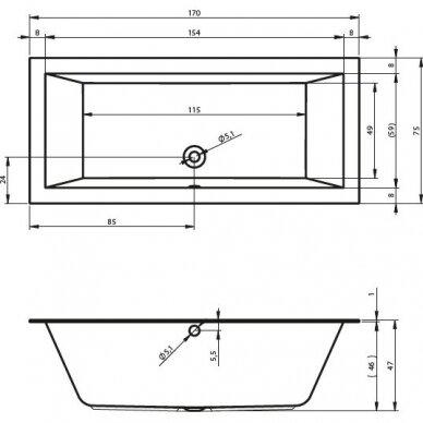 Vonia Riho Lusso 160, 170, 180, 190, 200 cm 3