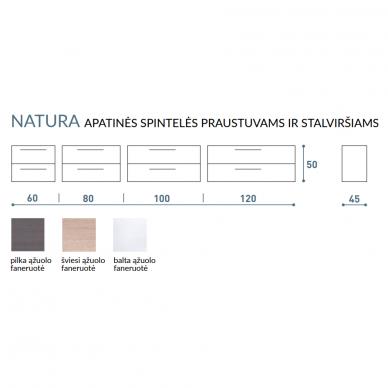 Vonios baldų komplektas Natura 100 3 dalių 10