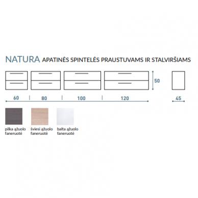 Vonios baldų komplektas Natura 160 6 dalių 16