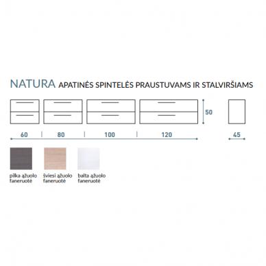 Vonios baldų komplektas Natura 60 4 dalių 10