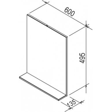 Vonios baldų komplektas Ravak Rosa II (įv. spalvų) 10