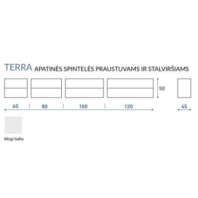Vonios baldų komplektas Terra 100 5 dalių 11