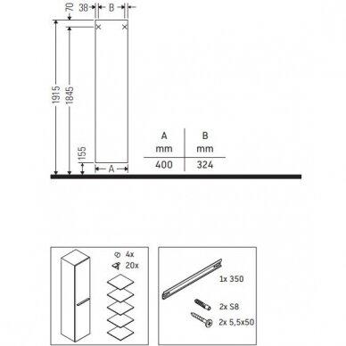 Vonios kambario komplektas Duravit X-Large 4