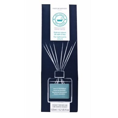 Vonios kvapas Cube Scented Bouquet Anti-odours 2