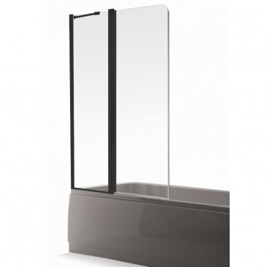 Vonios sienelė Brasta Glass Maja Plius 70, 80, 90, 100, 110 cm 2