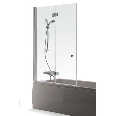 Vonios sienelė Brasta Glass Berta 80, 90, 100, 110 cm