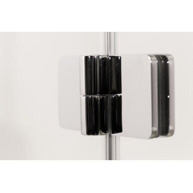 Vonios sienelė Brasta Glass Berta 80, 90, 100, 110 cm 4
