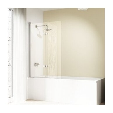 Vonios sienelė Huppe Design elegance 100, 120 cm