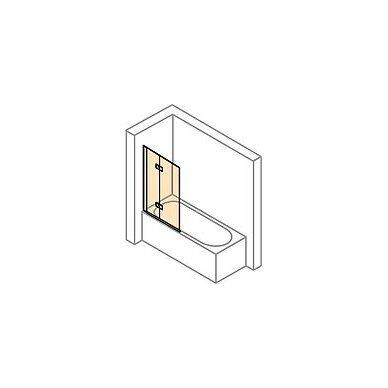 Vonios sienelė Huppe Design elegance 100, 120 cm 2