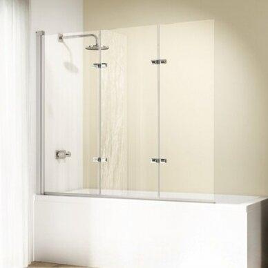 Vonios sienelė Huppe Design elegance 120 cm