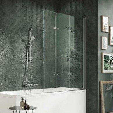 Vonios sienelė Huppe Design pure 120 cm 2