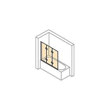 Vonios sienelė Huppe Design pure 120 cm 3