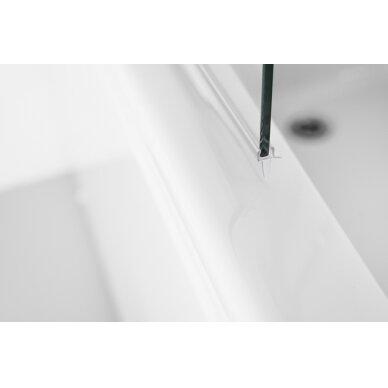 Vonios sienelė Brasta Glass Maja 70, 80, 90,100 cm 3