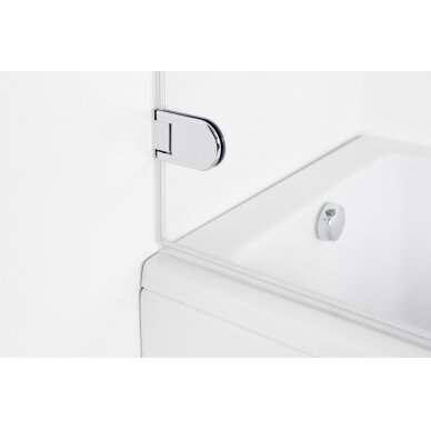 Vonios sienelė Brasta Glass Meda 70, 75, 80 cm 5