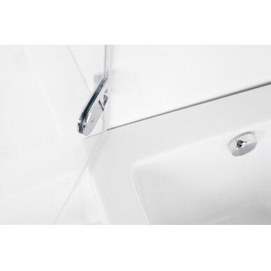Vonios sienelė Brasta Glass Meda 70, 75, 80 cm 2