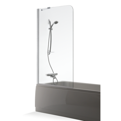 Vonios sienelė Brasta Glass Mija 70, 80, 90, 100 cm