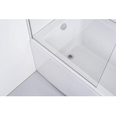 Vonios sienelė Brasta Glass Mija 70, 80, 90, 100 cm 6