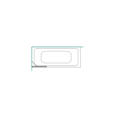 Vonios sienelė Baltijos Brasta Mija 70, 80, 90, 100 cm 7