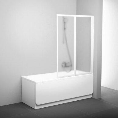 Sulenkiama vonios sienelė Ravak VS2, 105 cm