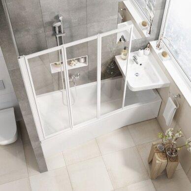Vonios sienelė Ravak VS3 100, 115, 130 cm 3