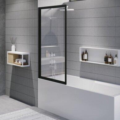 Vonios sienelė Riho Lucid GD501 80 cm 2