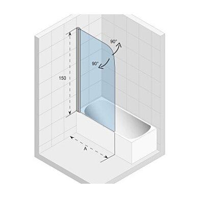Vonios sienelė Riho Novik, 75, 100 cm 2