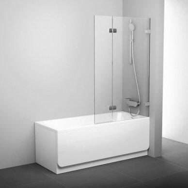 Vonios sienelės rinkinys Ravak BVS2 100 cm